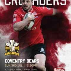 NW Crusaders' Captain's Run Friday 1st July