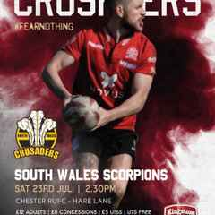 NW Crusaders v SW Scorpions