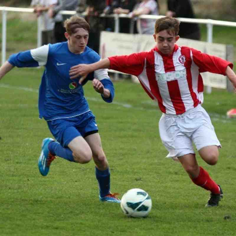 U17's v St Helens Town - Photos courtesy of St Helens Town
