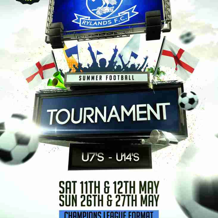 Rylands Youth Summer Tournament