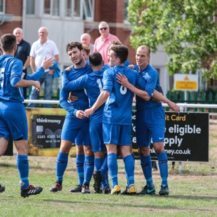 3 goals, 3 points on historic day for Rylands FC...