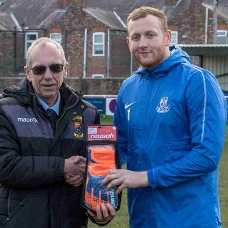 McCall wins October Division Goalkeeper of the Month...