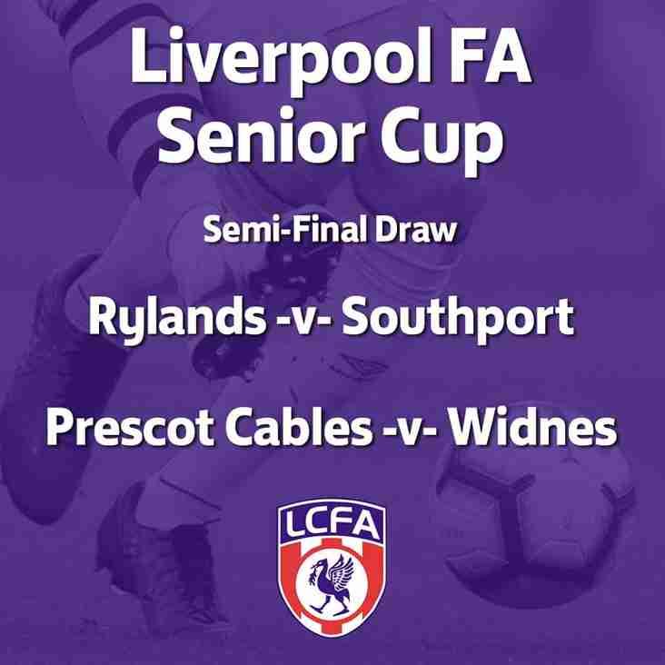 Liverpool FA Senior Cup Draw