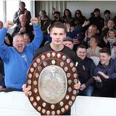 Cinderford Town celebrate title triumph