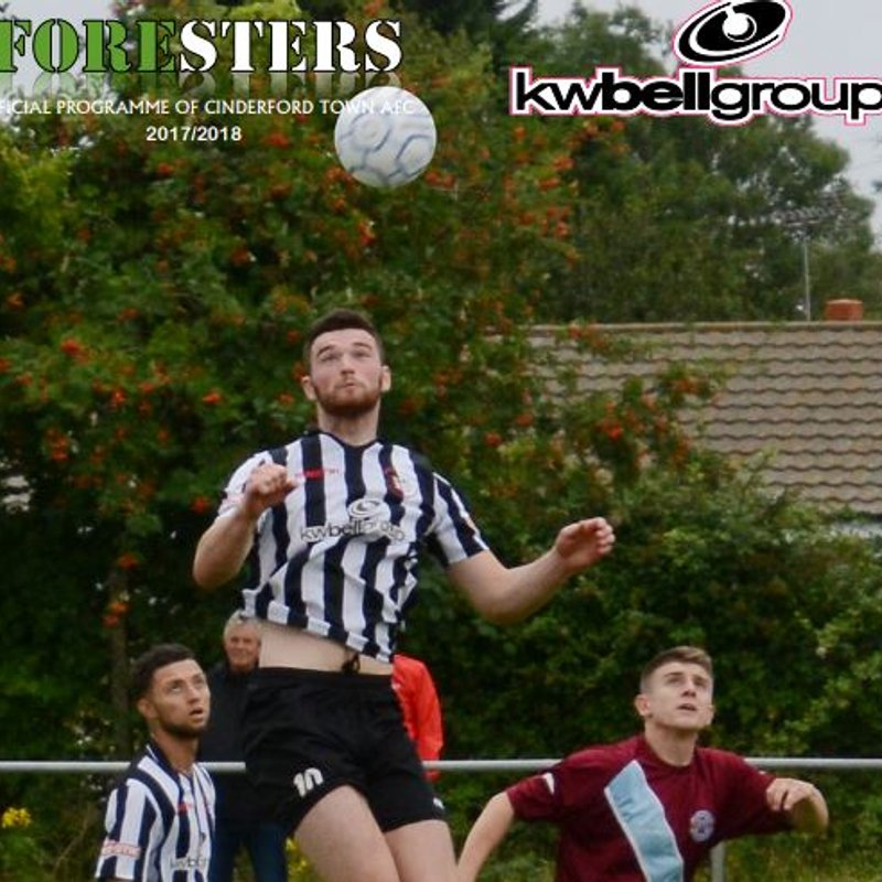 Matchday Programme vs Swindon Supermarine - Now available online