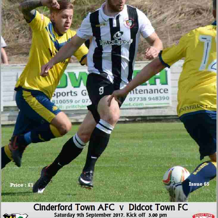 Matchday Programme vs Didcot Town Now Online!