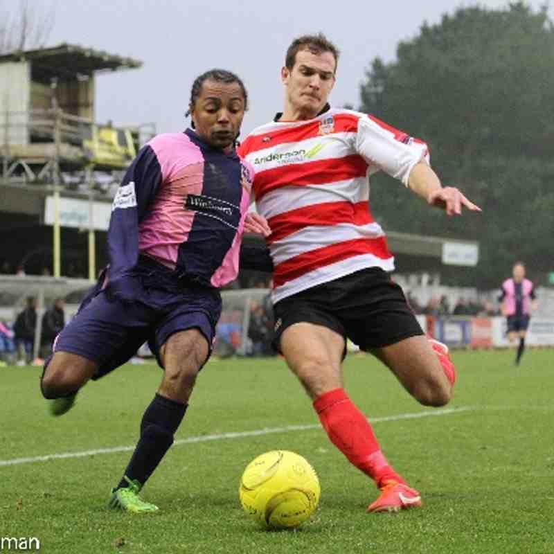 Kingstonian vs Dulwich Hamlet
