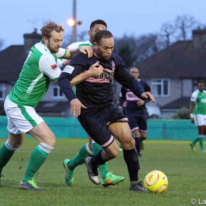 VCD Athletic vs Dulwich Hamlet 06-02-16