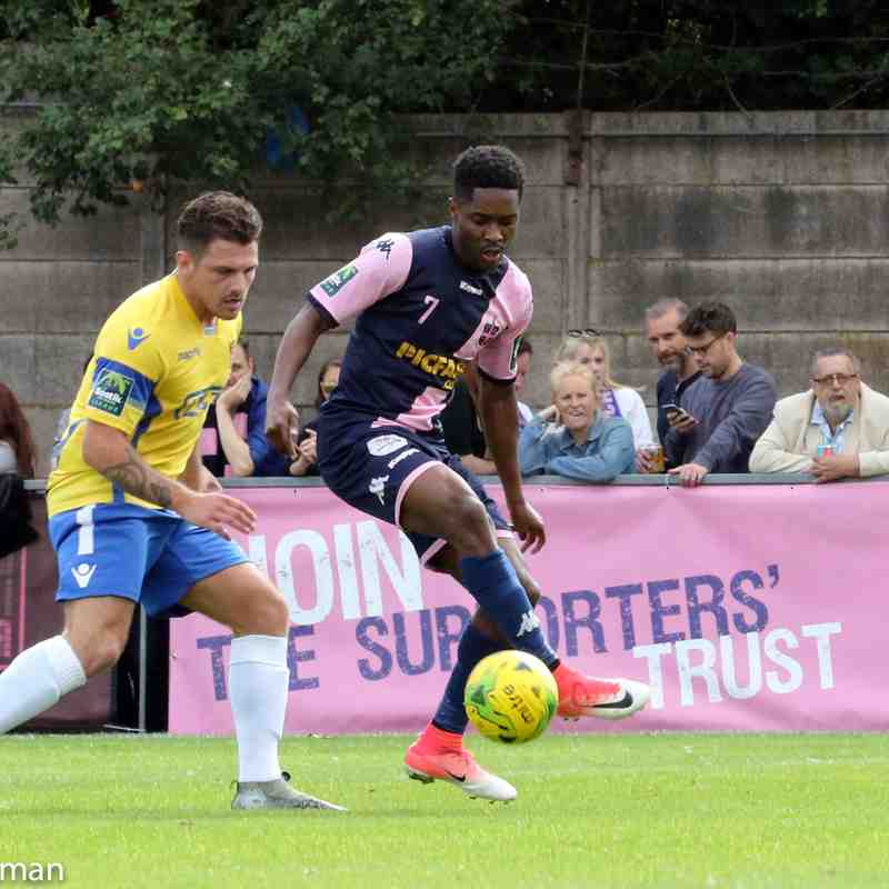 vs Staines Town 12-08-17