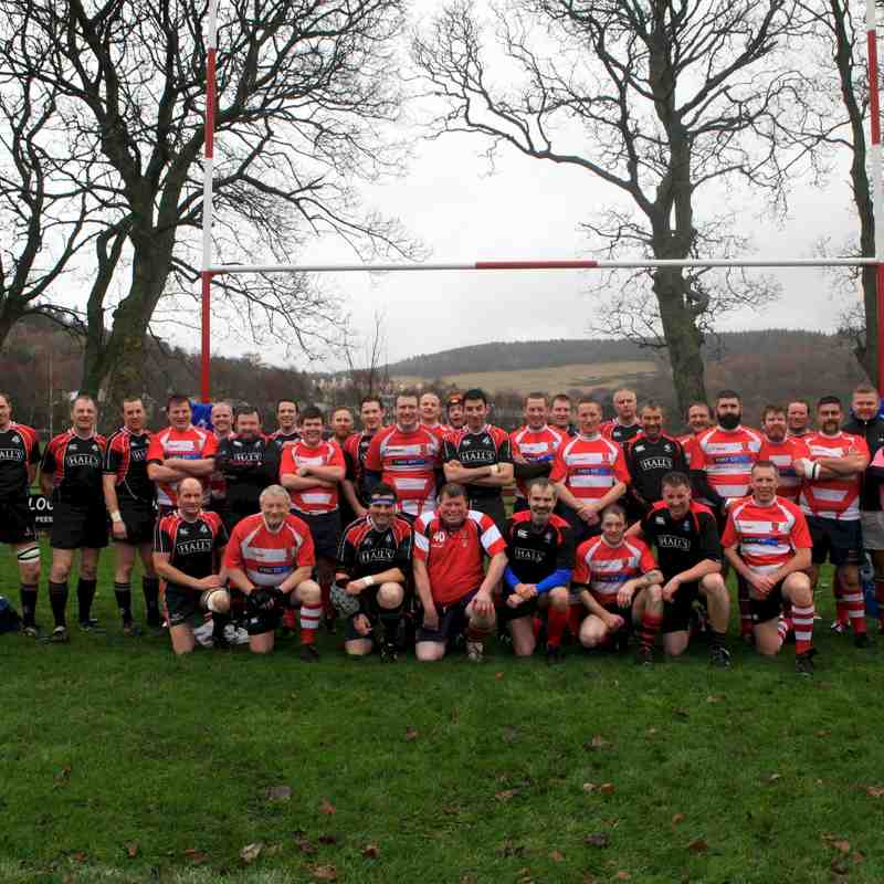 Peebles O35s v Biggar O35s 6 December 2014