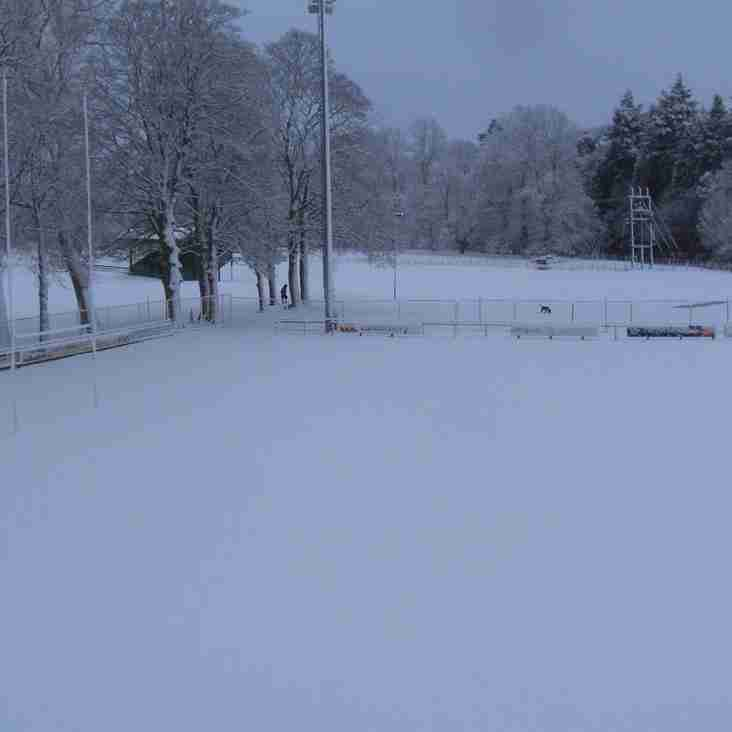 Peebles v Falkirk - Following pitch inspection, game has been POSTPONED