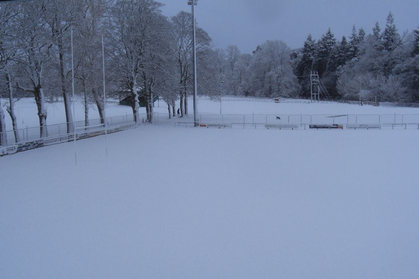 All Games succumb to weather & pitch conditions again