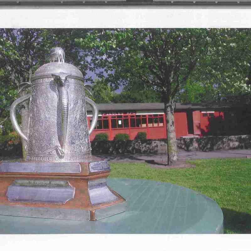 Calcutta Cup in Peebles