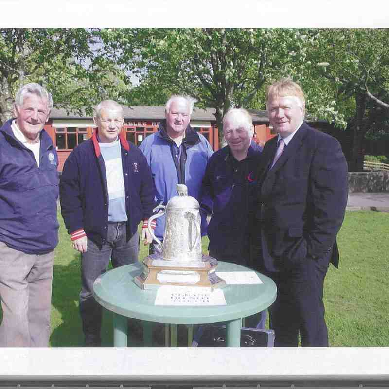 Calcutta Cup in Peebles