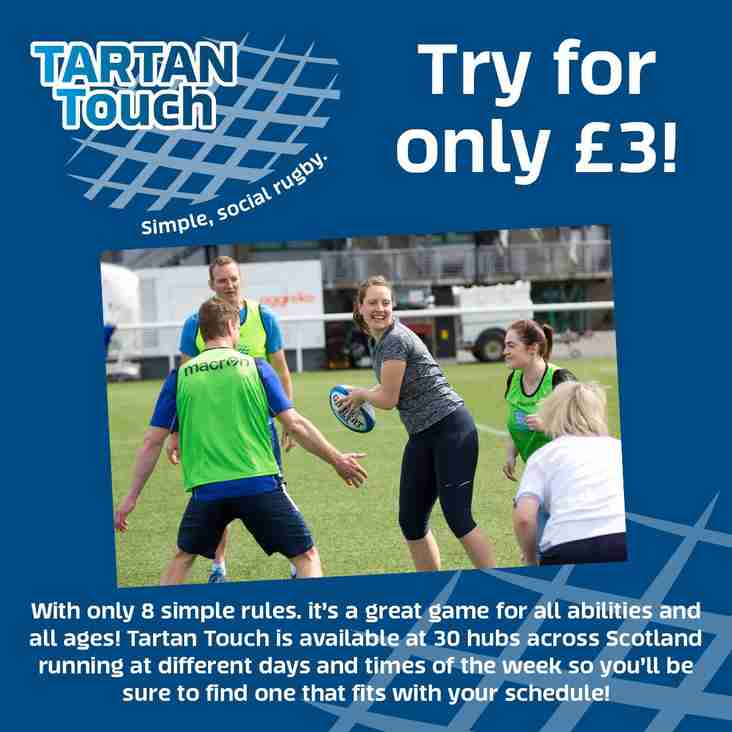 Tartan Touch  has ended for 2018, but will be back in 2019