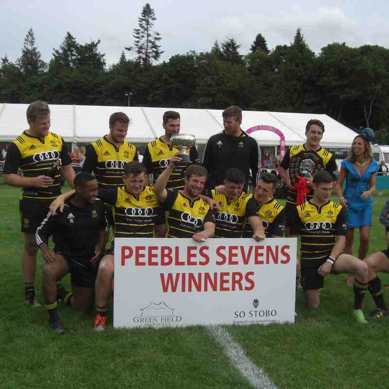 Peebles 7s  Winners - Melrose