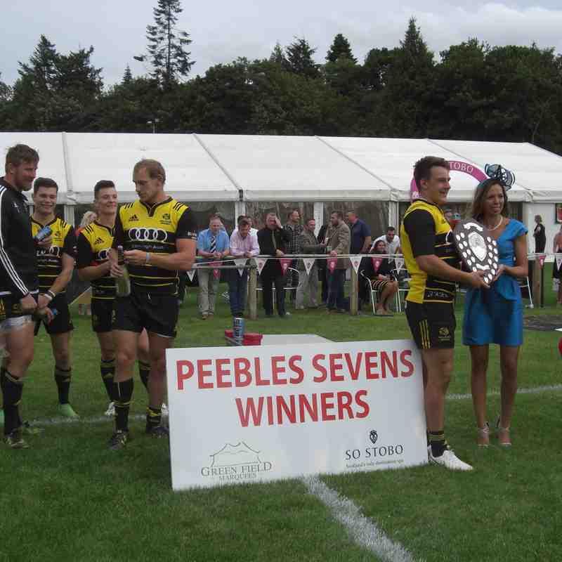Peebles 7s  Winners - Melrose