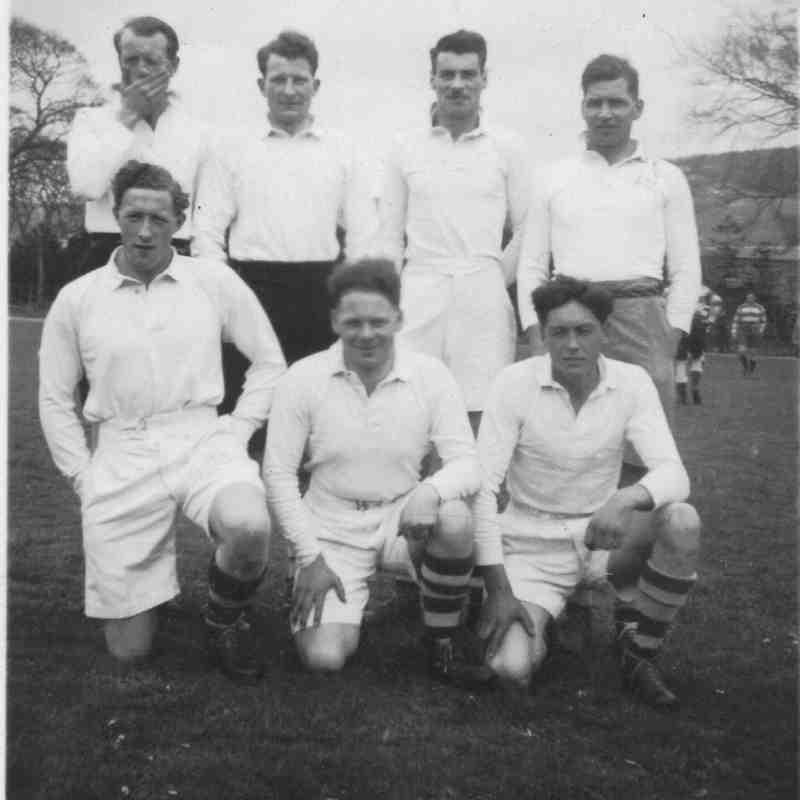 Peebles 7s Squad 70 years ago