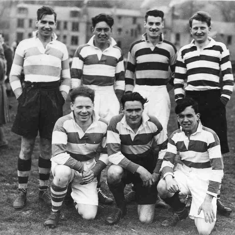 Peebles 7s Squad 70 years ago