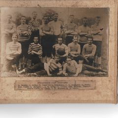 Peebles Rugby Football Club Players 1882