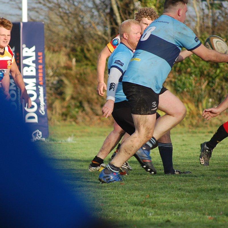 Bodmin RFC 2nd XV v St Austell 2nd XV 4th Nov 2017