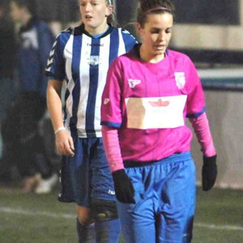 Ladies vs Gillingham