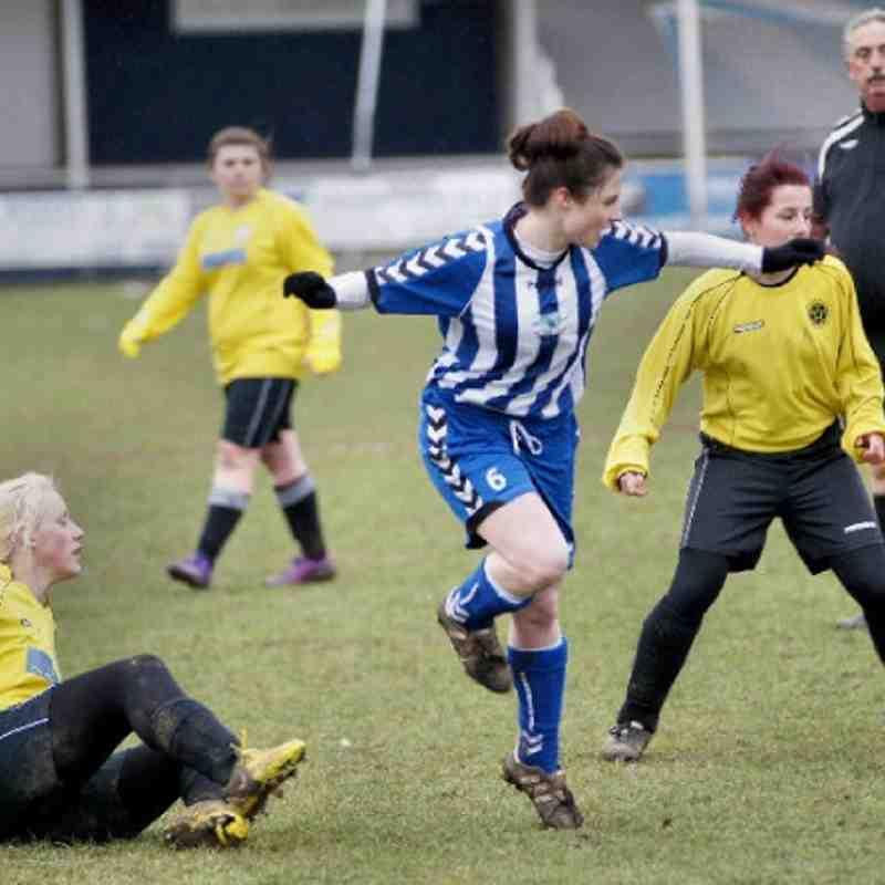 Ladies vs Gravesham 24-2-13