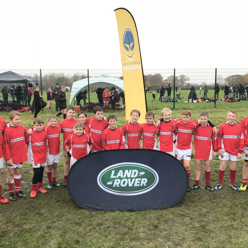 U12 Win Land Rover Plate at Worcester