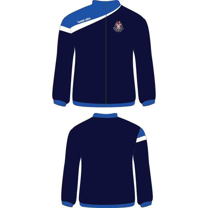 Webb Ellis Brackley RFC Full Zip Fleece