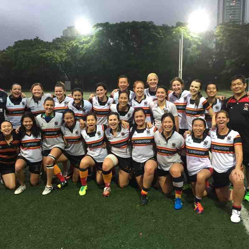 HKCC Ladies v Natixis HKFC Fire - 3rd October 2015