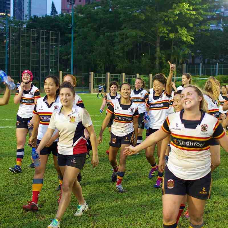 HKCC Ladies v Transact 24 Tai Po Dragons Ladies 2nd - 31st October 2015