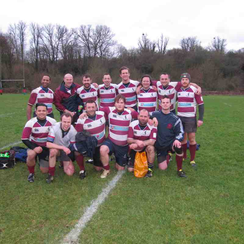 Welwyn 'Legends' vs Fullerians XV 06/01/18