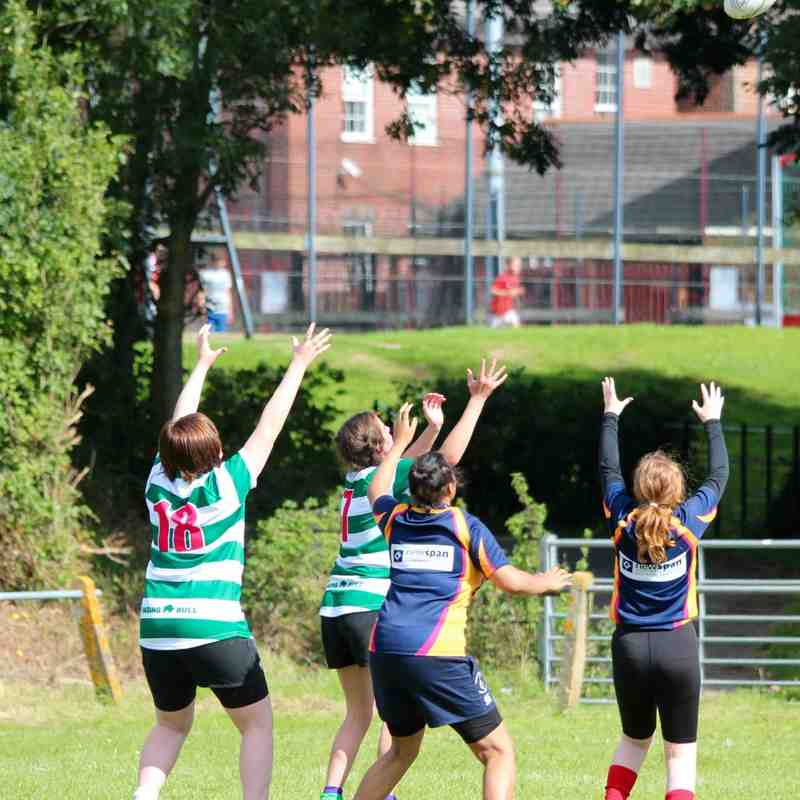 Girls team at RUGBYATHON