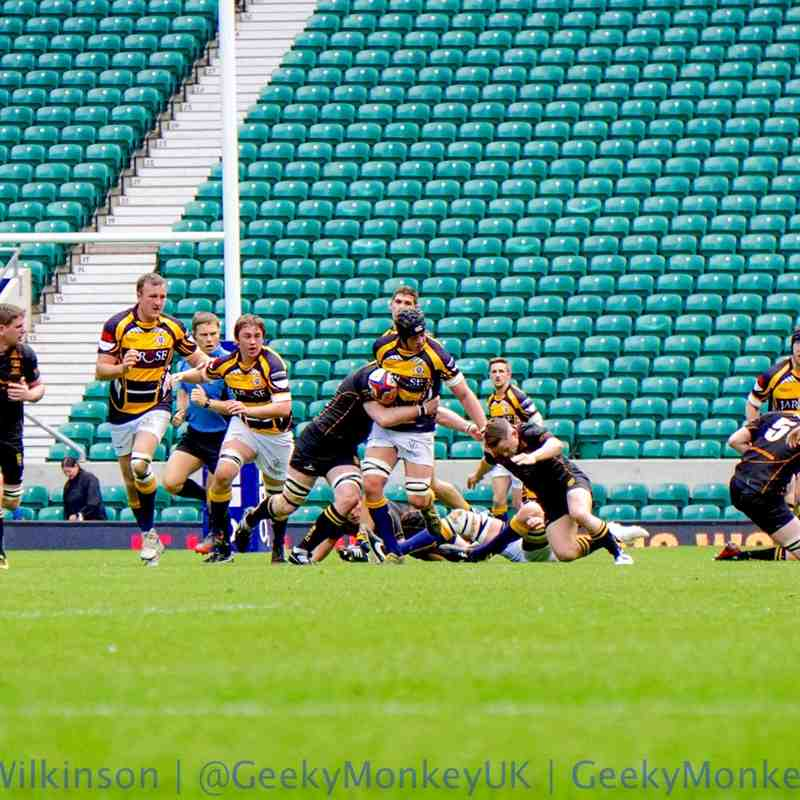 RFU Senior Vase - Final - Twickenham - 3rd May 2015