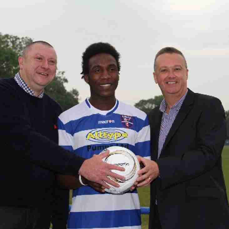 Celebrations as new sponsor signs