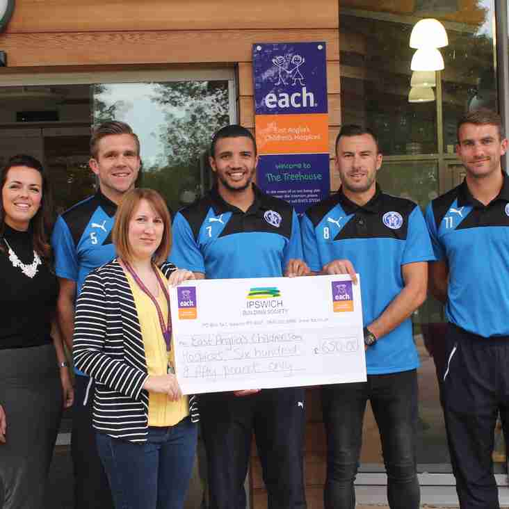 Charity trip inspires fundraising Blues