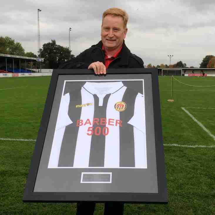 Chairman honours loyal defender