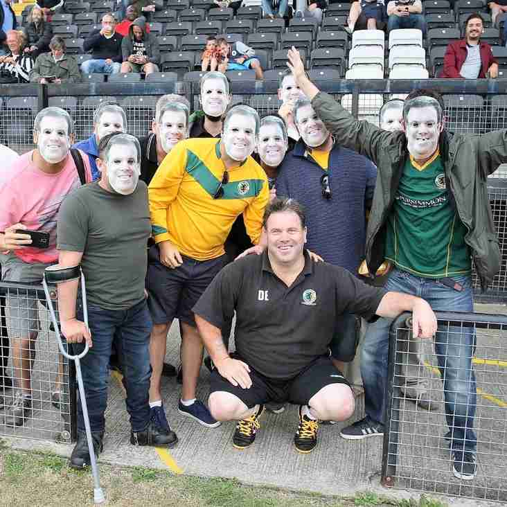 Stalwart is a masked man for fans
