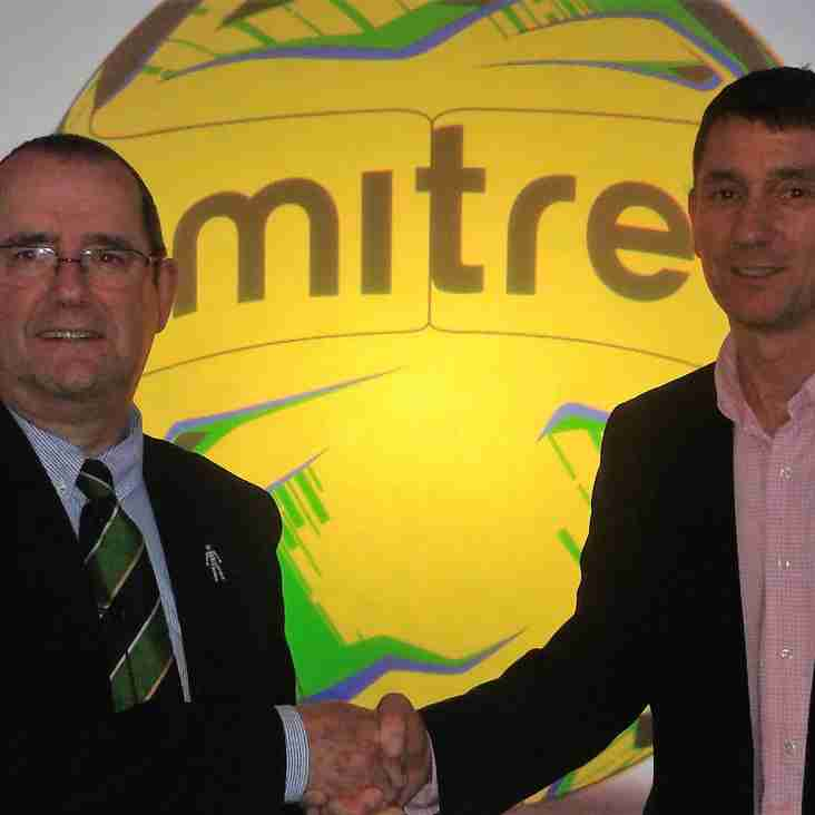 Mitre deal makes it a new ball game