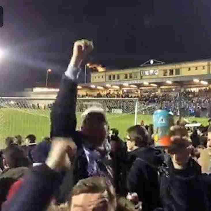 League salutes trophy triumph!