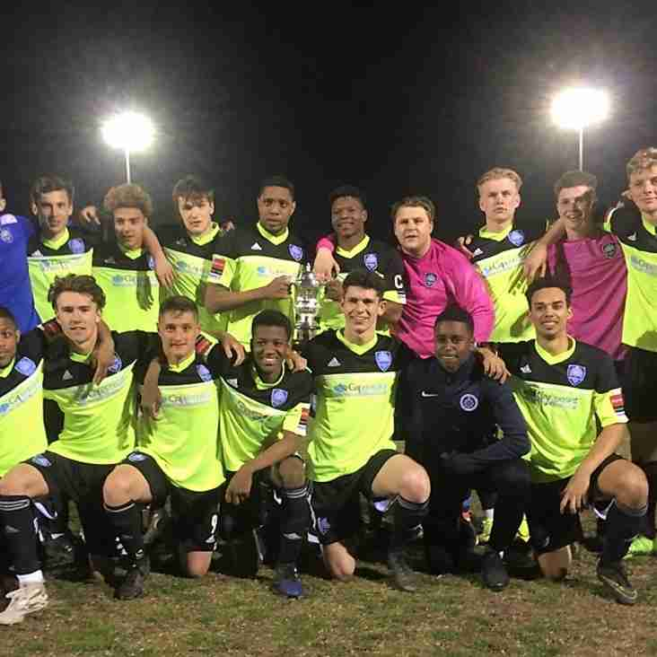 Treble winning finale for future stars