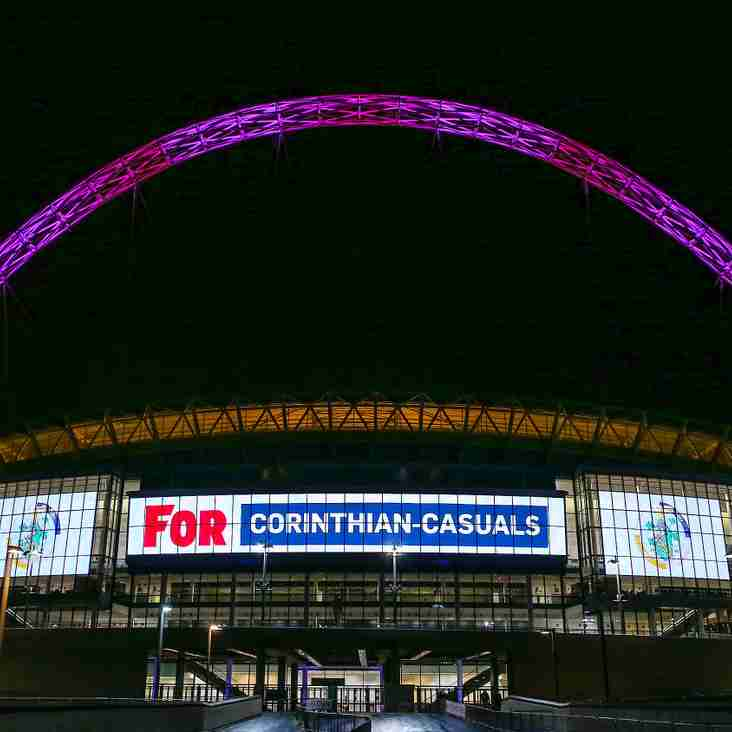 League clubs light up Wembley!