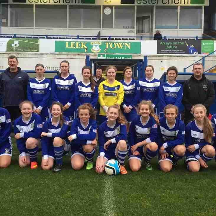 Leek Town Ladies 2 - 1 Brereton Town Ladies