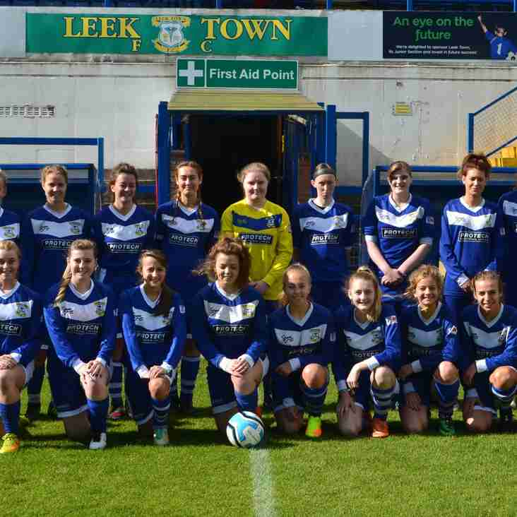 Leek Town Ladies 8 - 0 Atherstone Ladies