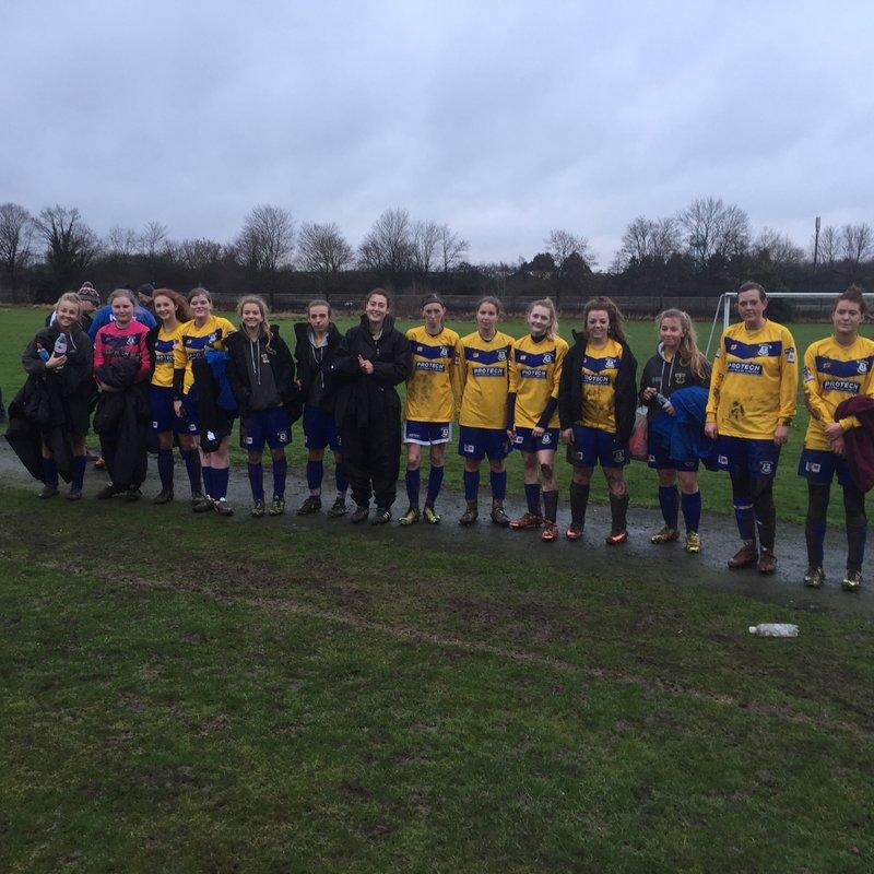 Atherstone Ladies 3 - 7 Leek Town Ladies