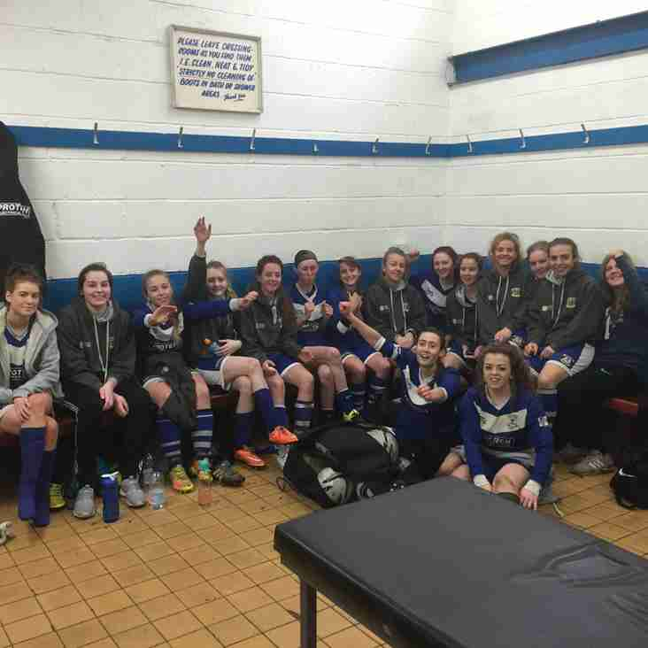 WEST MIDLANDS REGIONAL LEAGUE CUP FINAL FOR LEEK TOWN LADIES SUNDAY 30TH APRIL