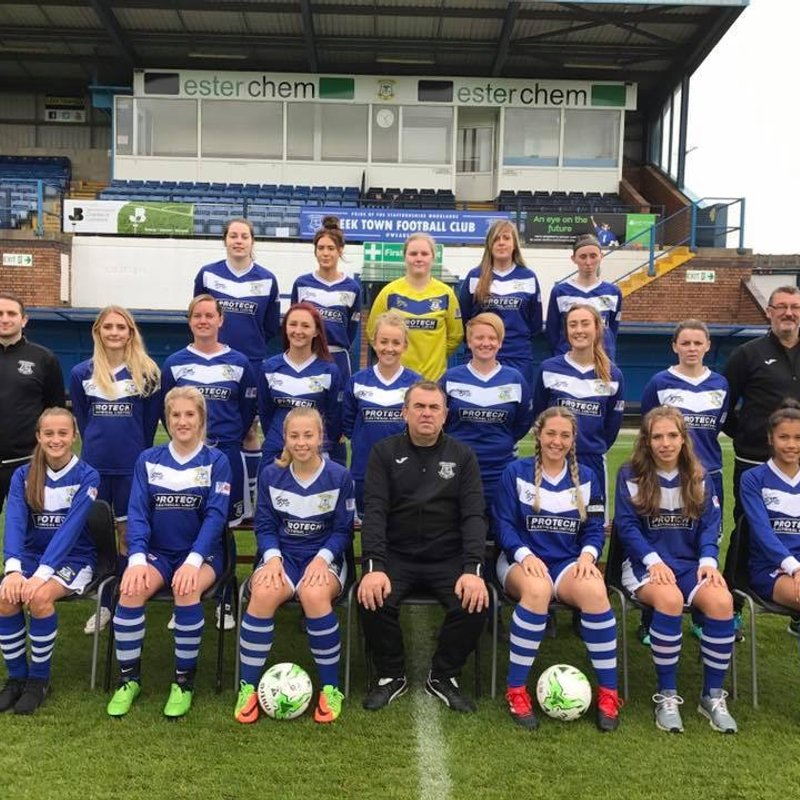 LEEK TOWN LADIES 4-1 TAMWORTH LADIES