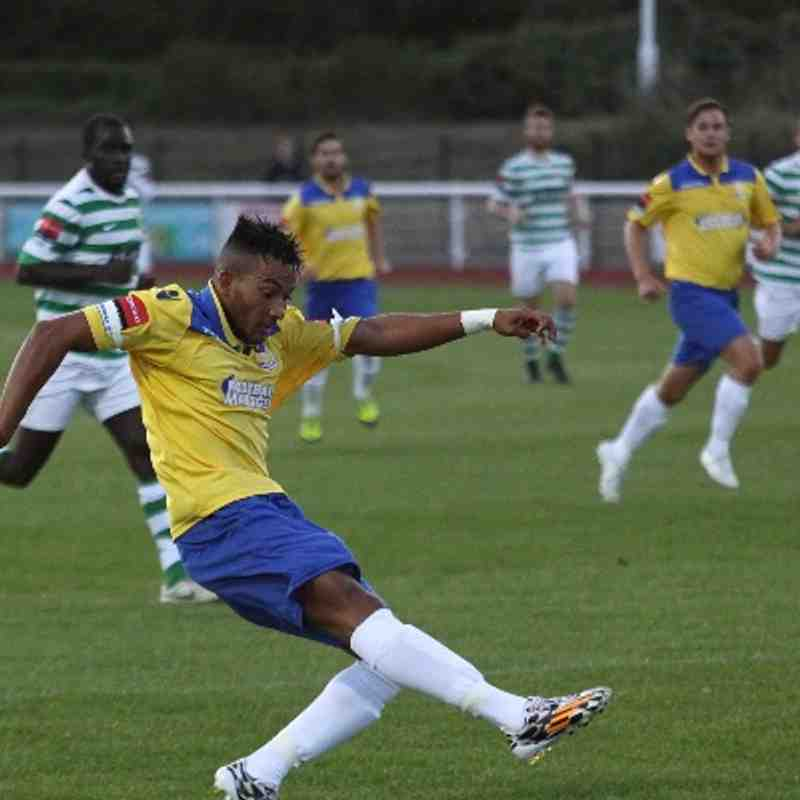 Enfield Town 1 VCD Athletic 0 (19.08.2014)