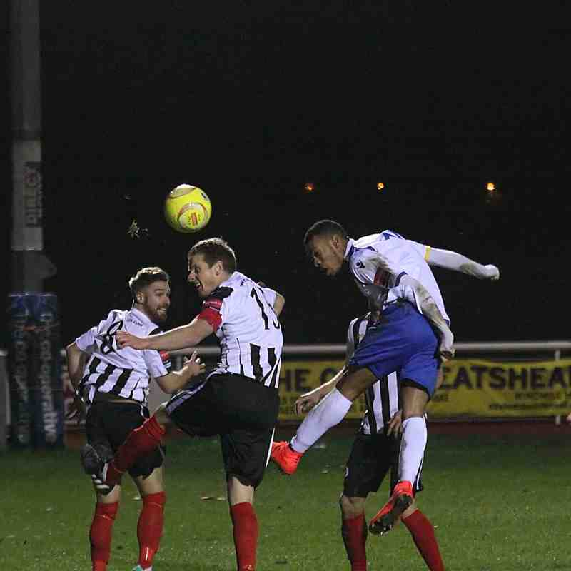 Enfield Town 1 Peacehaven & Telscombe 0 (2.12.2014)
