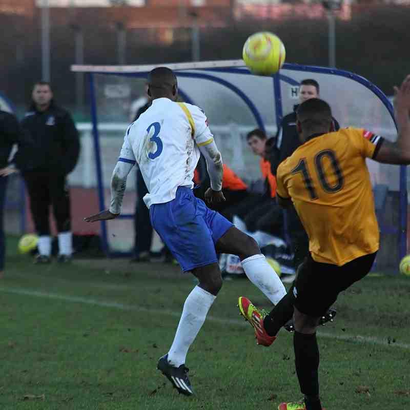 Enfield Town 1 Bury Town 0 (13.12.2014)